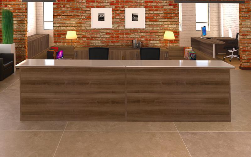 Cherryman Amber Am 404n Multi User Reception Desk