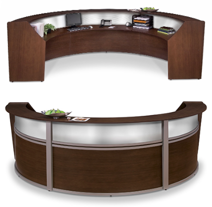Ofm Marque Triple Reception Station 55313 4 Finishes